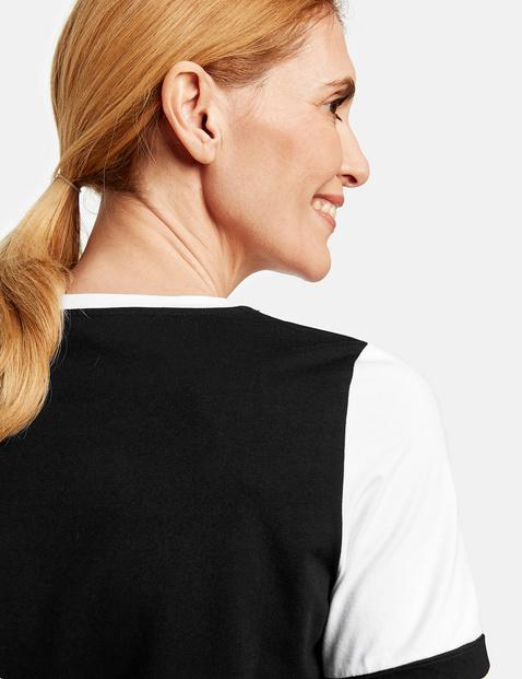 1/2 Arm Shirt mit Frontdruck