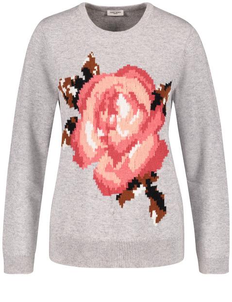 Pullover mit Rose