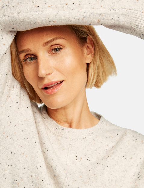 Sweter w melanżowym stylu
