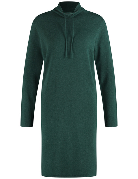 Knit dress in a blend of wool and cashmere