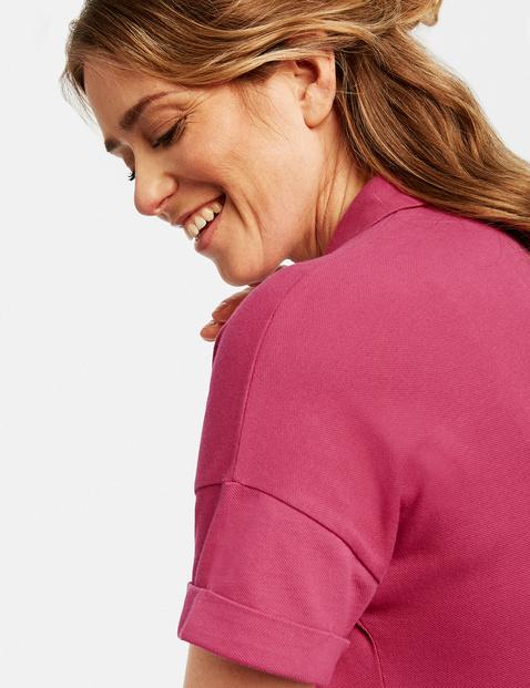 Sukienka w stylu koszulki polo z bawełny organicznej