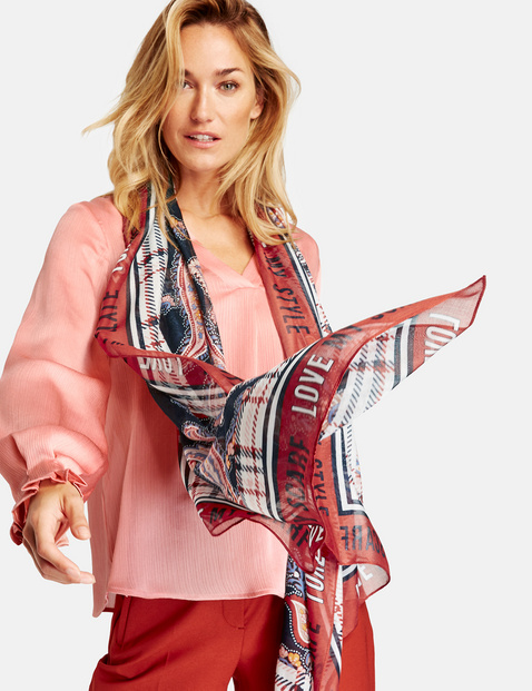 Sjaal met paisley