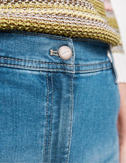 Jeans mit Used-Effekten Modern Fit