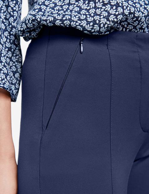 Spodnie ze szwami działowymi Slim Fit