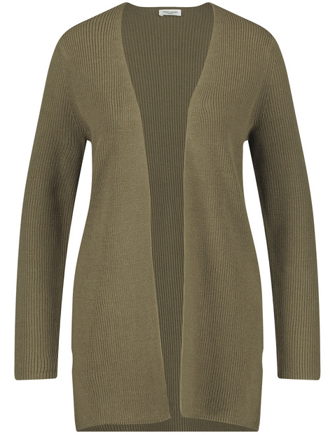 Open-fronted cardigan