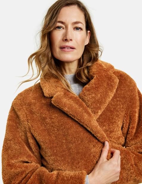 Mantel van teddy