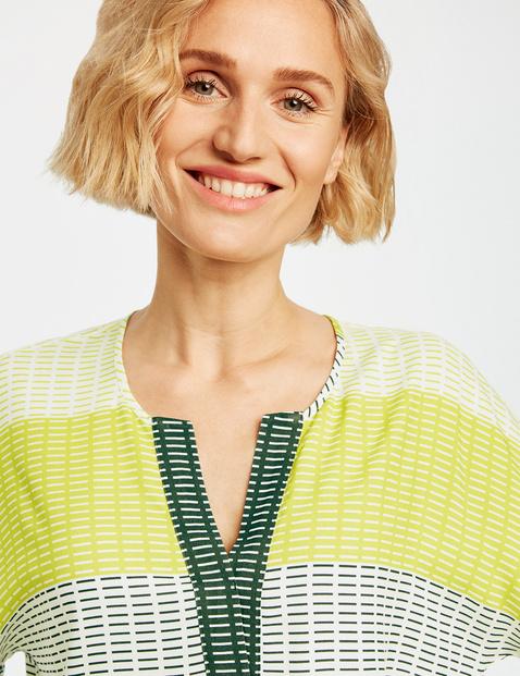 Blusenshirt mit Blockstreifen