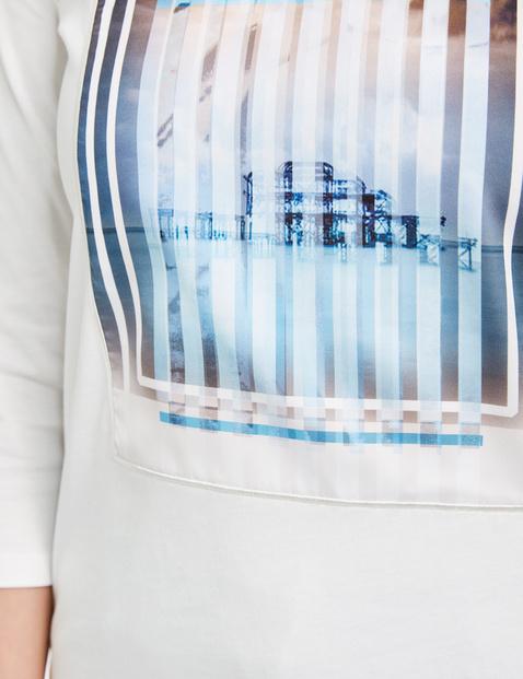 Shirt mit appliziertem Motivdruck