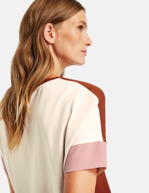 Shirt mit Kontrastdetails