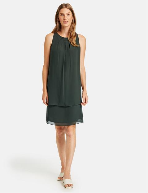 gestuftes kleid in grün | gerry weber