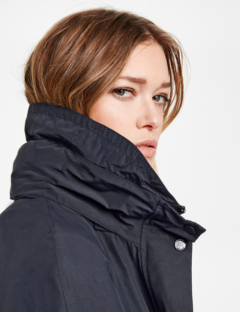 Short coat, coated