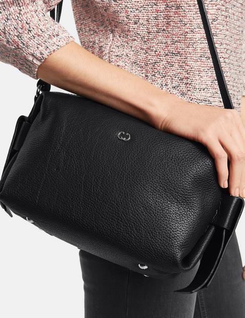Leather shoulder bag, Zamora
