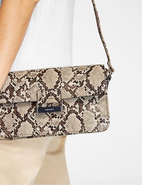 Snakeskin shoulder bag, Talk Different
