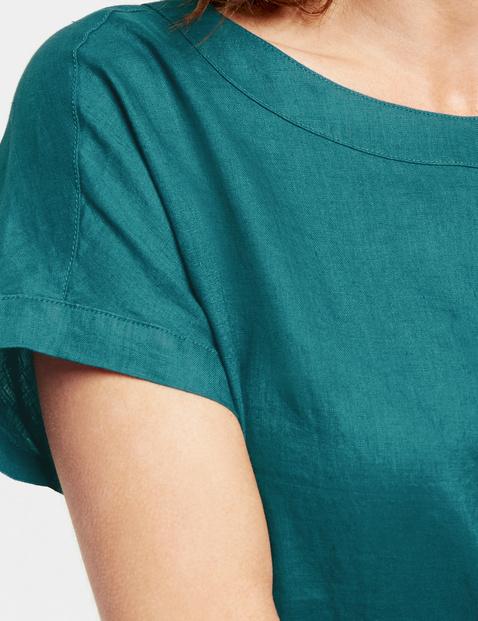 Shirtbluse aus Leinen