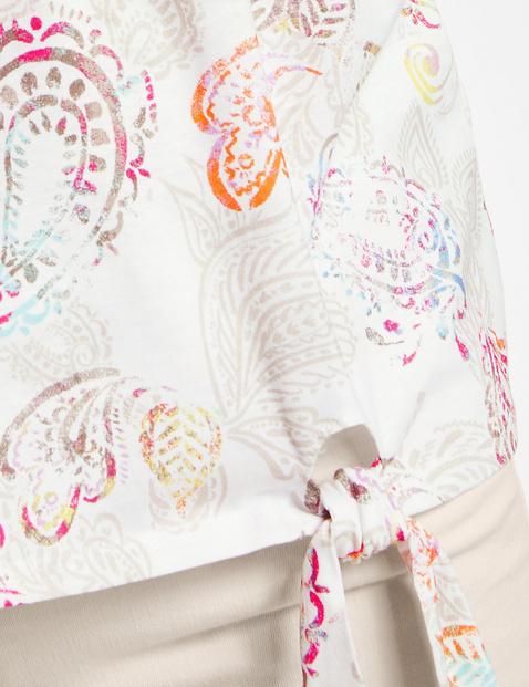 Top mit Paisleymuster