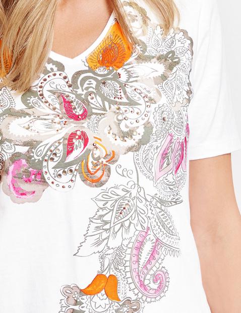 Shirt mit Frontdruck organic cotton