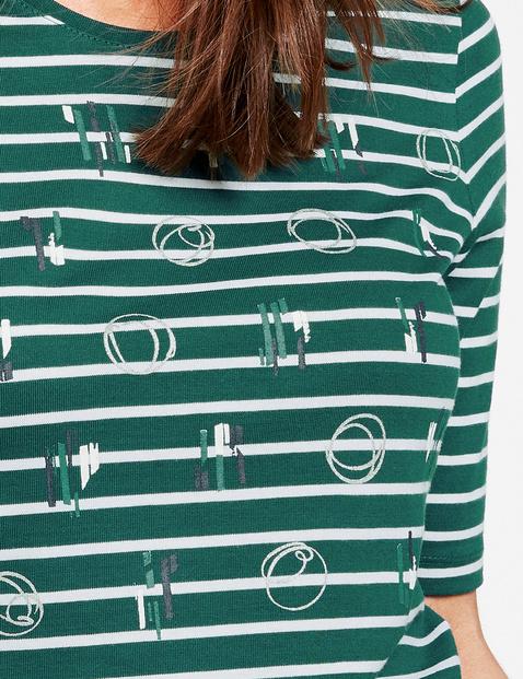Shirt mit Mustermix organic cotton