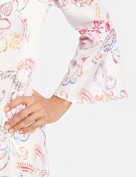 Blusenkleid mit Paisleyprint