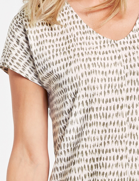 Kleid mit Minimalprint