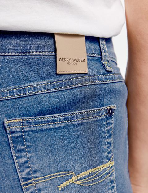 Spodnie z 5 kieszeniami Comfort Fit, krótki rozmiar