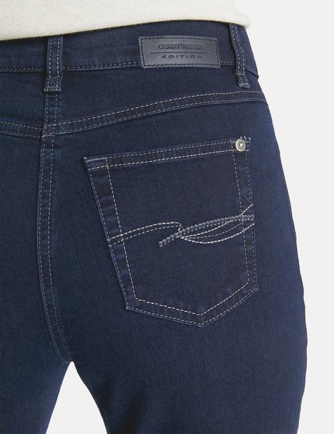 Dżinsy z 5 kieszeniami, krótkie rozmiary, COMFORT FIT DANNY