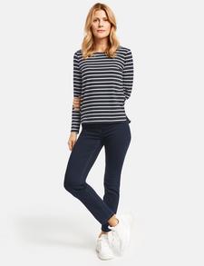 GERRY WEBER Edition Damen Straight Leg Jeanshose best4me