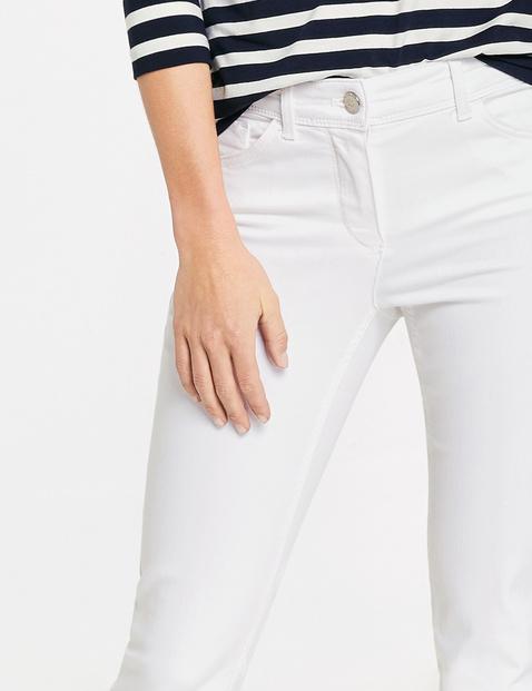 Verkürzte 5 Pocket Hose