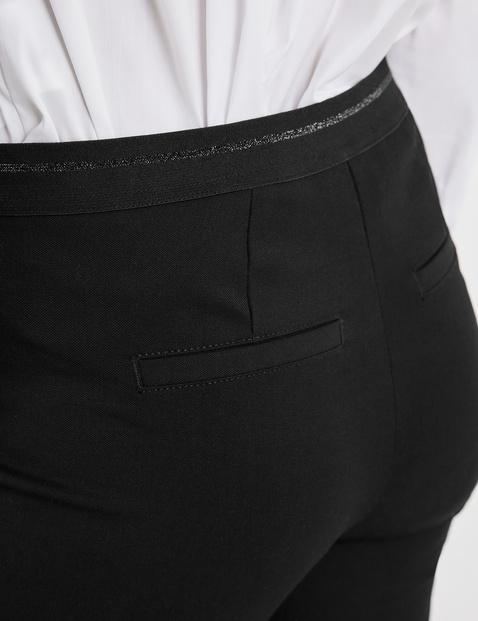 Skrócone spodnie Slim Fit