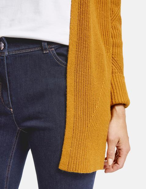 5-pocket-jeans met contraststiksel