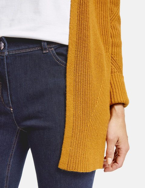 5-Pocket Jeans mit Kontraststepp