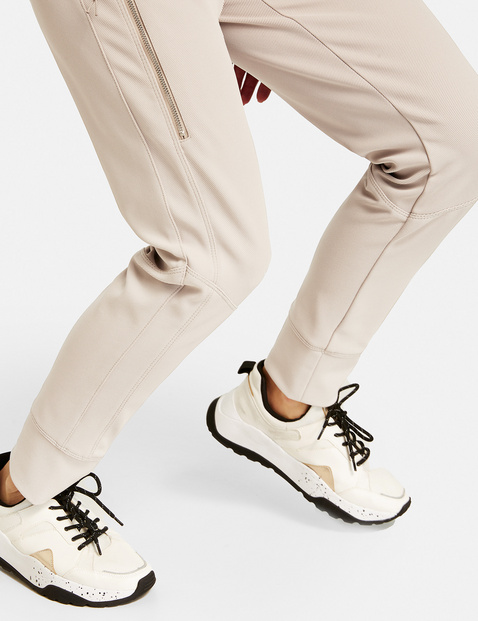 Tracksuit bottoms with zip details