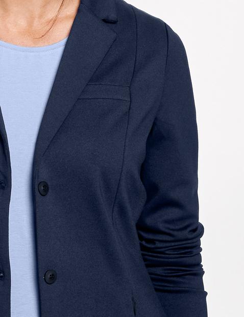 Blazer gemaakt van zware Jersey