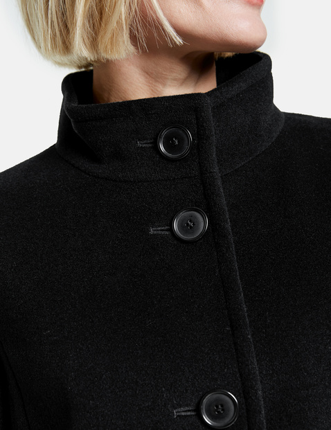 Coat with wool and cashmere