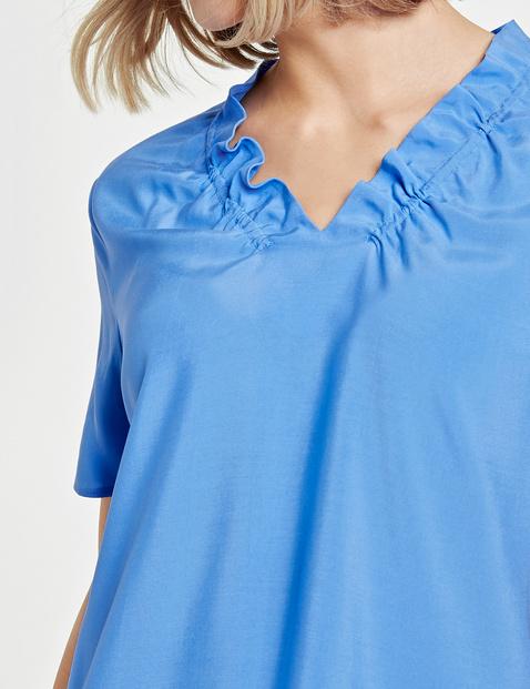 Blusenshirt mit Faltendetails