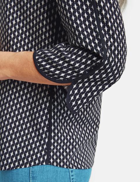Bluzka w drobny wzór