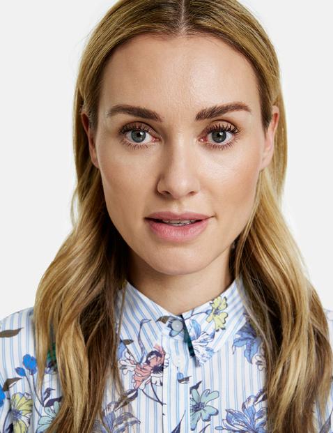 Organic cotton patterned blouse