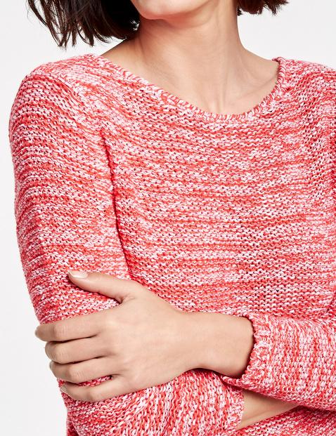 Pullover mit Bicoloroptik