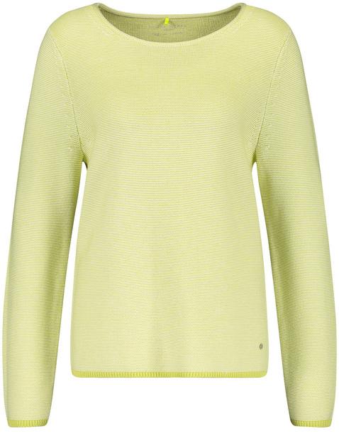 Pullover mit Struktur organic cotton